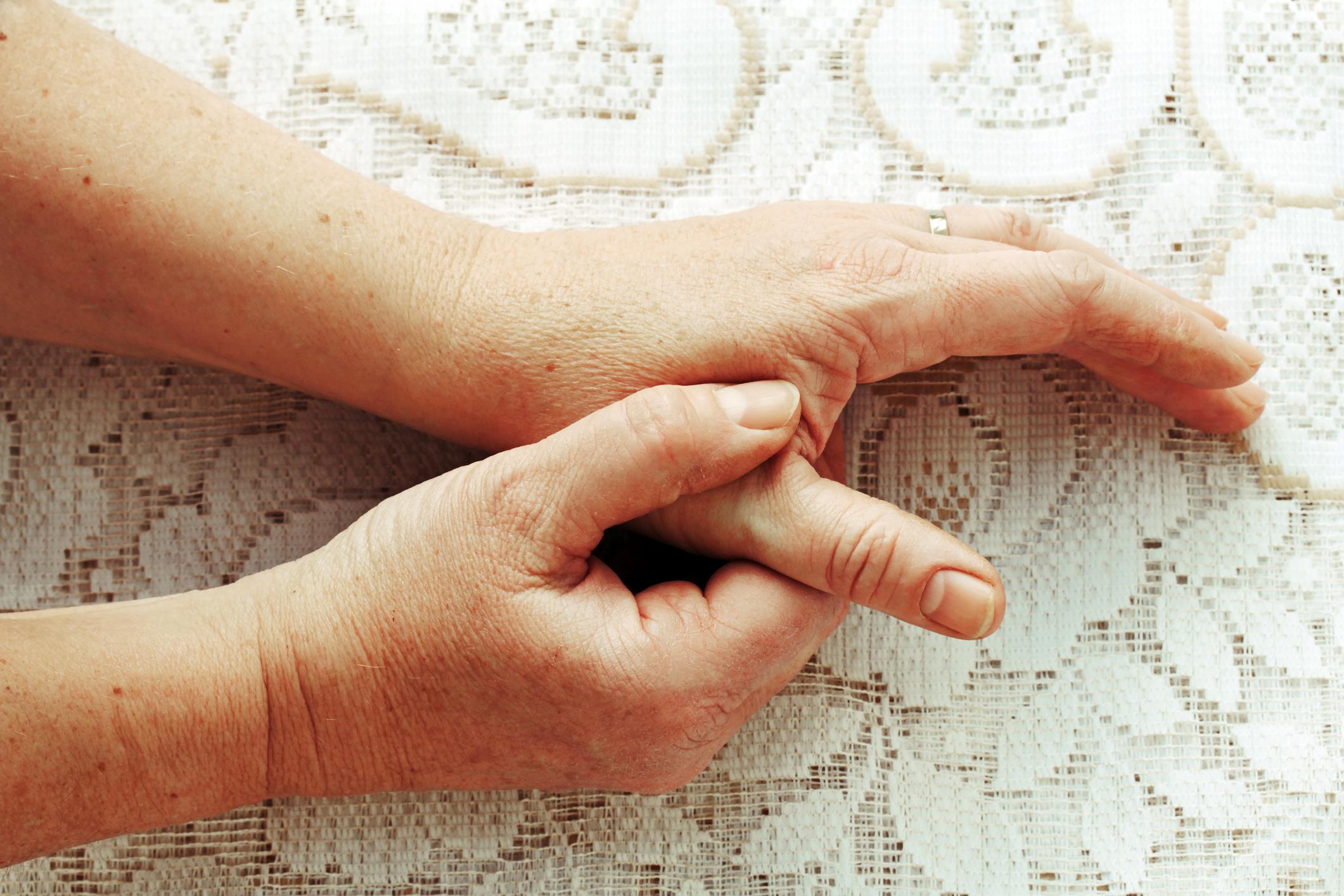 親指の痛み